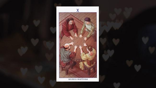 Колесо Фортуны Таро 78 Дверей в любви