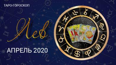 Таро гороскоп для Львов на апрель 2020