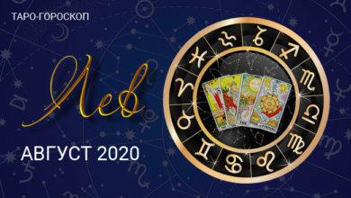 Таро-гороскоп для Львов на август 2020