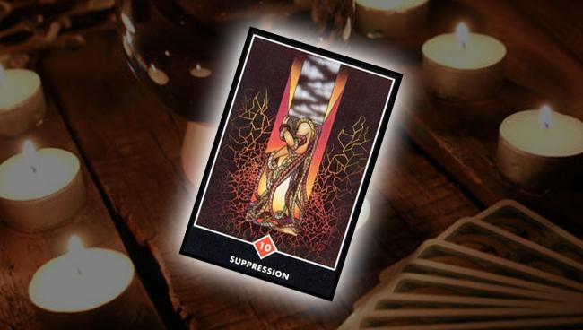 Десятка Огня – Подавление Ошо Дзен Таро: совет карты