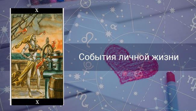 События личной жизни Козерогам на сентябрь 2020