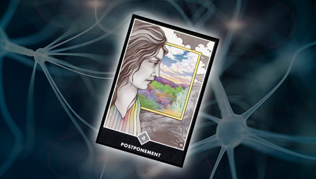 Четвёрка Облаков (Откладывание)  Ошо Дзен Таро: психоэмоциональное состояние