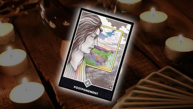Четвёрка Облаков (Откладывание)  Ошо Дзен Таро: совет карты