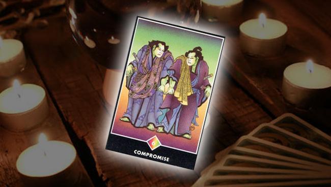 Шестёрка Радуги (Компромисс) Ошо Дзен Таро: совет карты