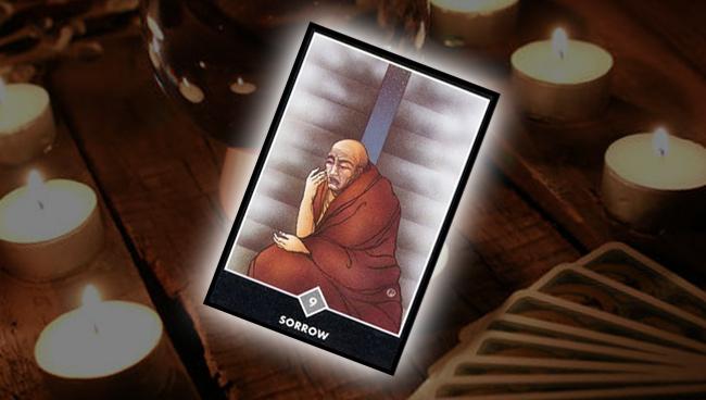 Девятка Облаков (Печаль) Ошо Дзен Таро: совет карты