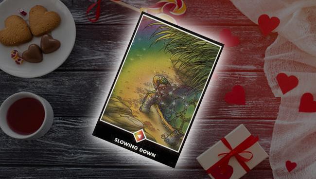 Рыцарь Радуги (Замедление) Ошо Дзен Таро: значение в любви