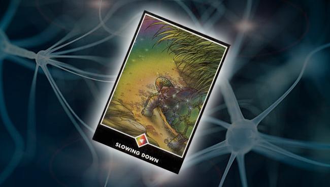 Рыцарь Радуги (Замедление) Ошо Дзен Таро: психоэмоциональное состояние
