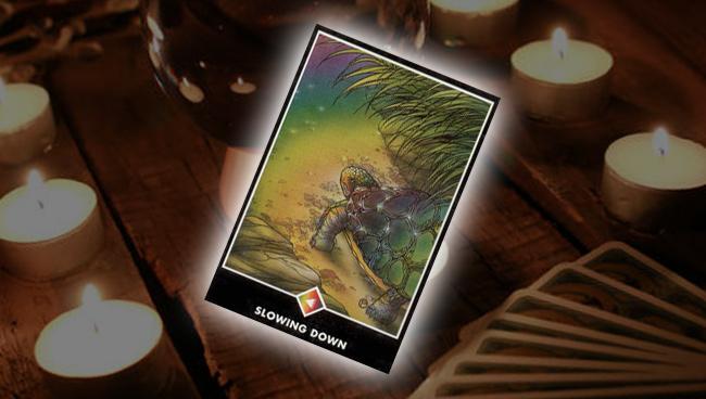 Рыцарь Радуги (Замедление) Ошо Дзен Таро: совет карты