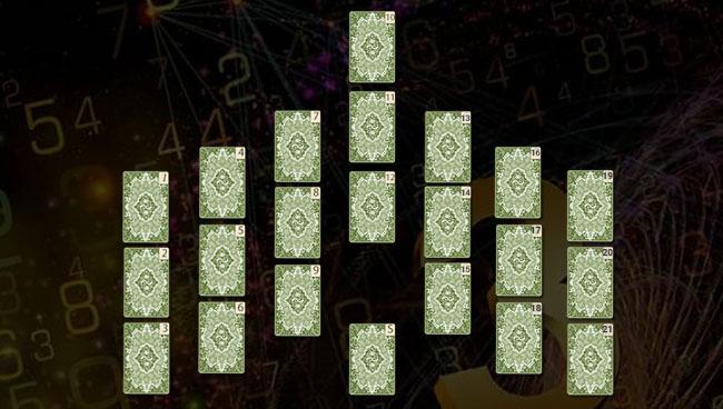 Схема расклада «Семь Троек»