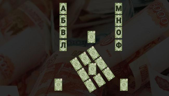 Расклад Таро Финансовая пирамида