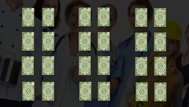 Расклад Таро «Профориентация», схема большого расклада