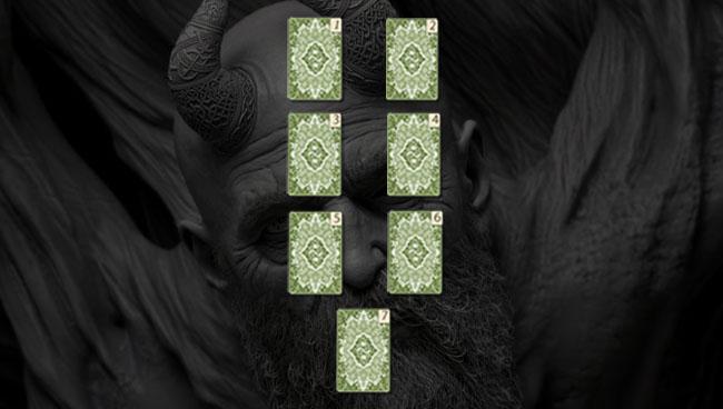 Расклад Голова Мимира руническая схема