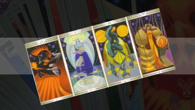 Таро Звезды Вечности Liber Придворные карты