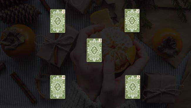 Расклад «Новогодние перемены», схема