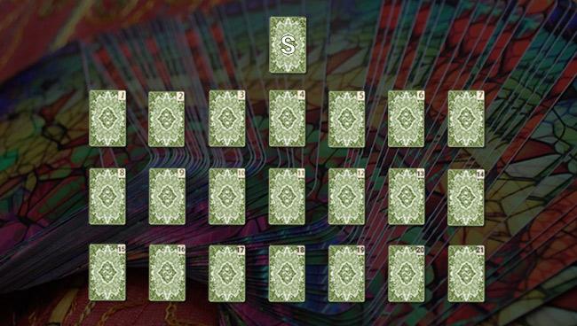 Расклад Таро «Семь вопросов»: схема